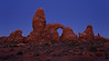 Lunar Eclipse at Turret Arch