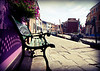 """""""Bench in Burano""""<br /> Burano, Italy<br /> July 2011"""
