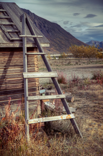 """Roof Top Ladder"" Yukon Territory, Canada September 2013"