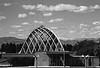 1960 CO Denver's new bontanical garden and front range