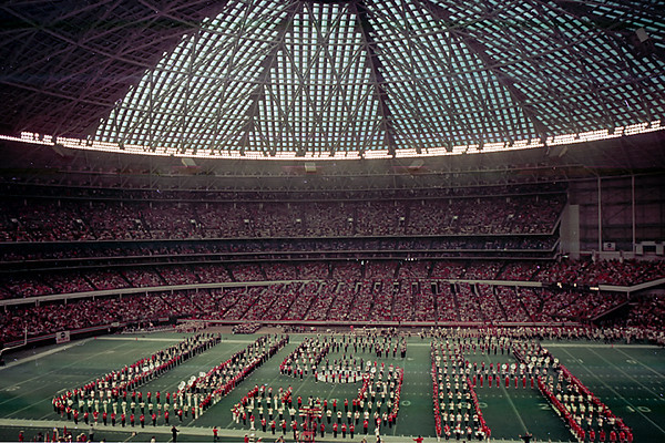 1975 TX Houston Colorado vs Texas in the Bluebonnet bowl game