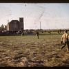 Brora [south east of Regina] Picnic - Baseball game [slide given to SHFS by David Tyler].  Brora.  06/28/1946