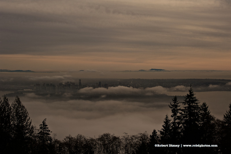 Fog Over Vancouver