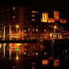 24.04.13 - Later..............<br /> <br /> Lincoln by night