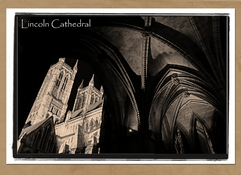 Lincoln Cathedral, slight variation on a classic view