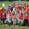 The final piece of the Chronicle's cold water challenge was executed on Friday when the Elyria City Schools administration team did their challenge at the board office. BRUCE BISHOP/CHRONICLE