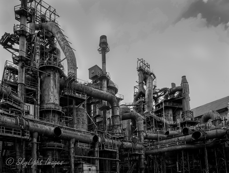 Bethlehem Steel Stacks in Bethlehem PA.
