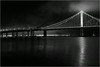 <center><i>San Francisco/Oakland Bay Bridge, from Treasure Island, </i></center>#3983-7D