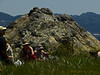 Peak, rock formation<br /> Brooks Island, Contra Costa Co., CA 2012/05/06