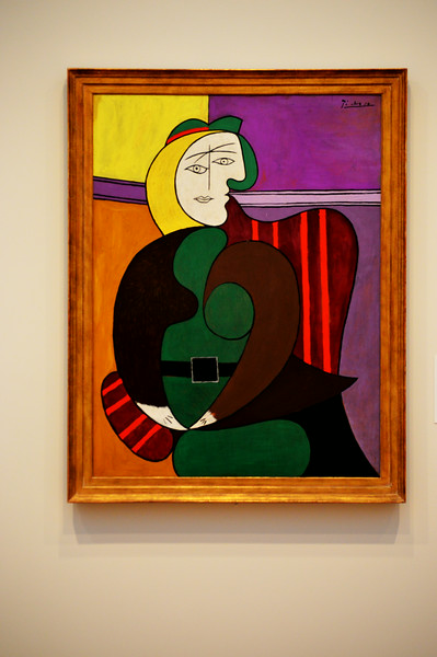 Picasso Painting at the Art Institute of Chicago