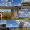 04.03.15 - Beautiful Day<br /> <br /> It really was a stunning day yesterday, although still very windy. These shots were all taken within the space of about 45 minutes while walking the dog across the fields and up the hill. Apologies for yet another collage, but I just couldn't choose between the shots