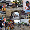 "29.06.15 - National Champions (2)<br /> <br /> As promised yesterday here is a collage of shots from the men's race at the National Cycling Championships on Sunday. The race was even more exciting than the women's one earlier, and was only decided on the final climb up the steep cobbles when Peter Kennaugh managed to shake off Mark Cavendish. ""Cav"" is the better known rider with his incredible 25 stage victories on the Tour de France, but he is really a sprinter and the climbs didn't suit his style so well. In less than a week the top riders here will be in France for Le Tour, hopefully Lincoln was a nice warm up for them.<br /> <br /> This was by far the biggest sporting event to come to my hometown in my lifetime, it was a pleasure to be there and photograph it, I'll probably not see anything like it again in my life. These are heady days for British cycling, we've been the best on the world for several years now and the crowds are huge.<br /> <br /> Some information on the pics; the central one is Newport Arch, the only Roman archway in Britain that still has traffic going through it. Bottom right is the (in)famous bird of paradise flower building, a private residence that attracts strong views for and against it!"