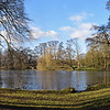 06.02.15 - A Walk in the Park<br /> <br /> This is a 2 shot photomerge panorama taken yesterday afternoon on my walk back from town. Boultham Park is a small detour from my usual route, but well worth the effort on a day like this if I have the time. If you look closely you can see that there is still a lot of ice on the lake. This morning it feels a bit warmer, but there is no sign of the sun.