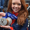 04.04.14 - Jade<br /> <br /> This is Jade Etherington who won 4 medals for team GB at the Sochi Paralympic Games, making her the most successful British winter paralympian ever. She comes from Lincolnshire and currently lives in Lincoln, and yesterday was given an open top bus tour through the city to celebrate her achievements. It takes a special kind of guts to ski downhill at 70mph when you're blind! <br /> <br /> This was taken outside the cathedral where she took time out to meet the media and her fans. It was a joy to meet her, Jade had time to chat to everyone and show off those wonderful medals. They are spectacular close up and incredibly heavy!!!!