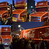 10.12.14 - Christmas is Definitely Coming!<br /> <br /> The Coca-Cola truck, or more accurately one of their many trucks, was in Lincoln yesterday. To be honest I'm not a fan, but I thought it would be interesting to photograph. It wasn't as photogenic as I'd imagined, half the lights weren't even on, but I couldn't believe how long people were prepared to queue to get an official photo with it.
