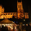 06.12.13 - Time Travellers<br /> <br /> This is a shot from Lincoln's Christmas market last night, specifically the medieval market section in the grounds of the Old Bishop's palace. The market started as a small affair 31 years ago, in the style of traditional German Christmas markets, it is now the largest in Europe!