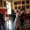 "3.07.10 - Time Travelling Again<br /> <br /> Today WAGscreen were back at Gainsborough Old Hall shooting the latest scenes for their short film, where 21st century girl ""Violet"" explores the rooms and is able to see former inhabitants. We spent some time in the gardens and on the roof of the Tudor Tower, but the main scene today was here in the Victorian Ballroom. The rushes look great, as the scene was shot on a steady cam, and director/camerman Nick Loven was able to follow ""Violet"" (Abigail Griffin) as she danced amongst the ""Victorians"". Nick was followed everywhere by his steady cam minder Ben, just in case he tripped while walking backwards with the expensive piece of kit! <br /> <br /> As usual, this scene was very hard to shoot because of the challenging light, and I spent a lot of time trying to cut out movement. But in the end some of the best shots were those that included movement blur, as they look a lot more dynamic. I've added a lot more shots from today to the existing gallery here;  <br /> <br /> <a href=""http://www.lightanddreamsphotography.com/gallery/12281778_QMhQD#922095485_fL5Zu"">http://www.lightanddreamsphotography.com/gallery/12281778_QMhQD#922095485_fL5Zu</a>"
