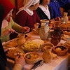 7.8.10 - Old Food!<br /> <br /> This evening I went to shoot a medieval banquet, and they wouldn't let me leave until I'd eaten something. Luckily I love eating as much as I love photography! Sadly this isn't a great pic, far too noisy due to the high ISO, but it is a nice shot of the tasty authentic food.
