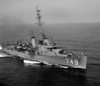USS Roberts (DE-749)<br /> <br /> Date: August 8 1955<br /> Location: Hampton Roads VA<br /> Source: Nobe Smith - Atlantic Fleet Sales