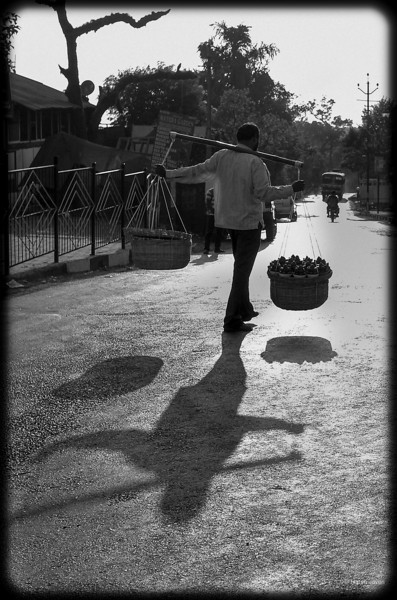 4th year Pic 358- May - 16 2013. Fruit vendor   -  Market, Mahabaleshwar Critiques welcome!