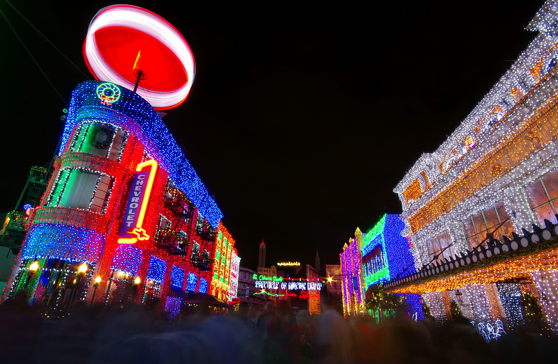 Osborne Spectacle of Dancing Lights<br /> Hollywood Studios, WDW