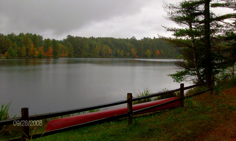 Moody Pond, in the village of Saranac Lake, sep 28, 2008 HPIM0100-1