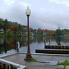 Saranac Lake village, looking across Lake Flower, sep 28, 2008 HPIM0095-1