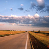 near Bowman, North Dakota, US 12, dawn, July 19, 2001