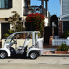 Transportation by Golf Cart on Newport Beach Peninsula in CA