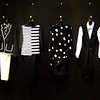 Black and White Clothing at Bloomingdales in Costa Mesa CA