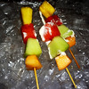 Fruit Kabobs on Ice