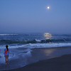 W Moon at Chincoteague
