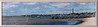 Proviencetown Panoramic photograph in a 10 x 40 inch frame. UV Plexiglass