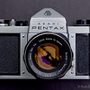 """Super S2 - The Asahi Pentax S2 Super was manufactured by Asahi Optical Company from 1962 to 1968 and is an enhanced S2 but with top speed of 1/1000 Sec and is identified in this way. There is no """"Super"""" designation on the body."""