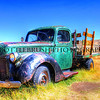 Old Ford V8 Truck in Bodie, California.