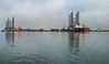 Harborside on a Cloudy Morning