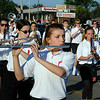 The Brookside Cardinal Marching Band performs at Sheffield Lake Community Days parade on July 10. STEVE MANHEIM/CHRONICLE