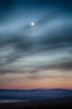 Moon Over The White Mountains