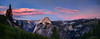 Half Dome, Sunset
