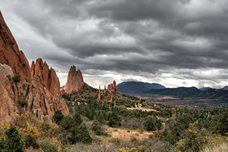 Garden of the Gods Scenic View