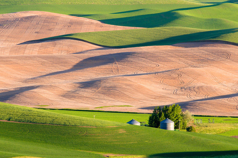 Steptoe Butte Grain Silos 2