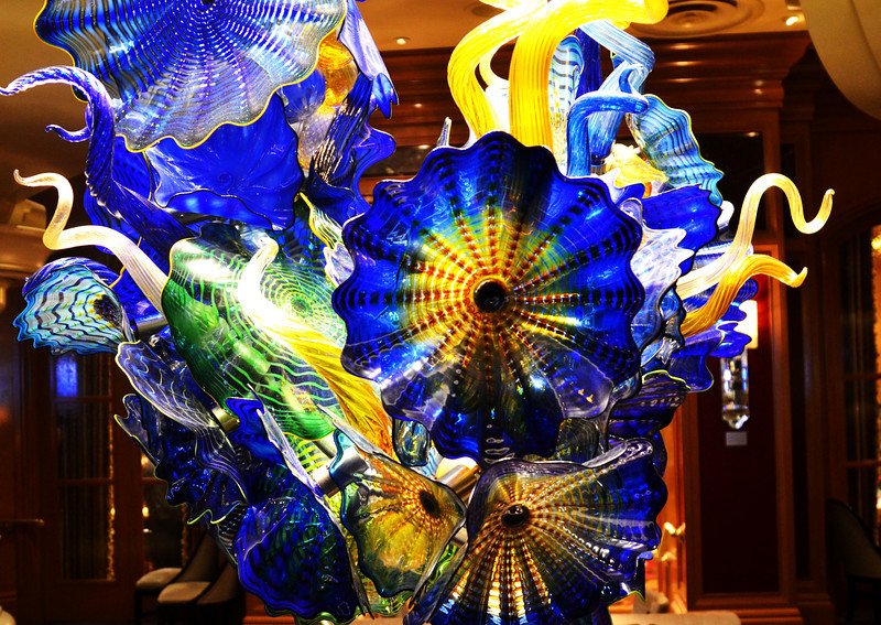 Chihuly Glass at the Bellagio Hotel in Las Vegas NV