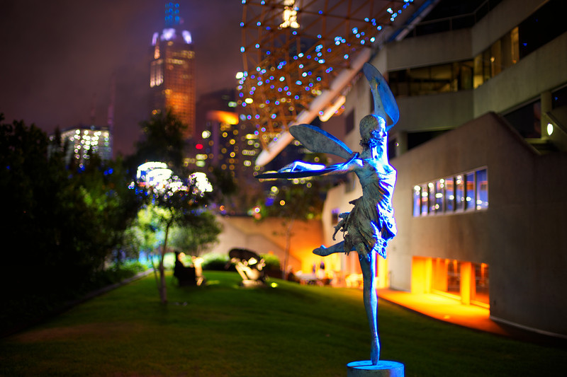 Melbourne. Dragon Fly Statue.
