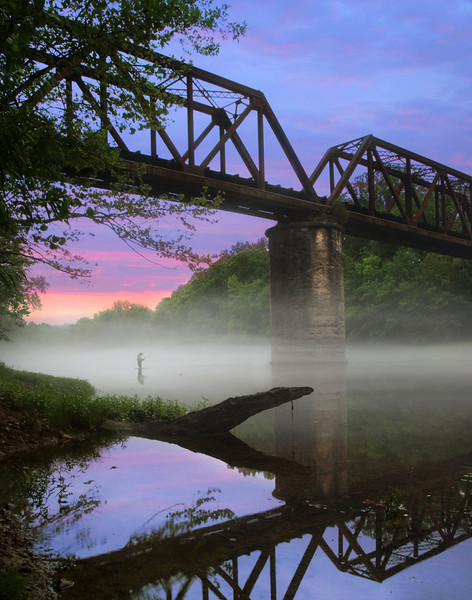 Early morning on the Caney Fork