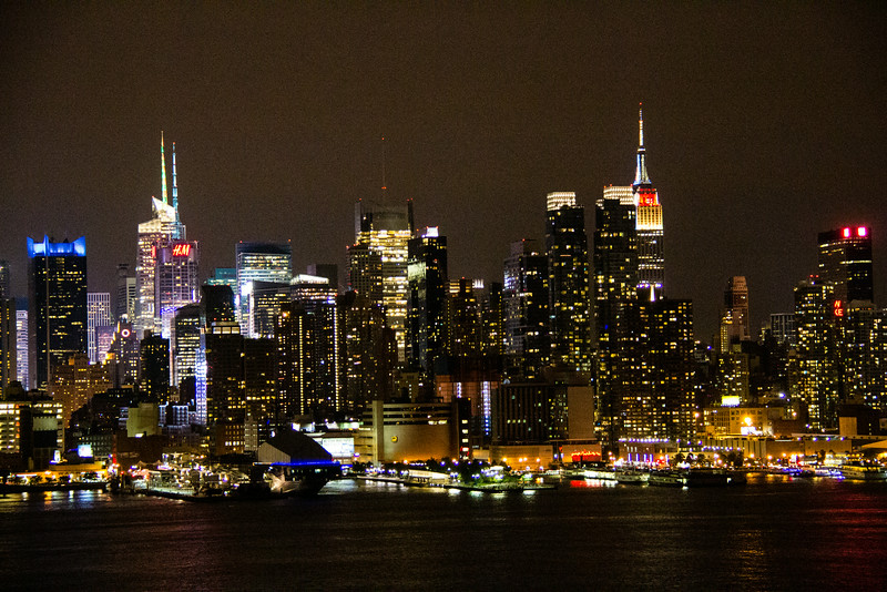 New York City at Manhattan Night