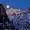 Moonrise over Yosemite Valley 2-Yosemite NP, CA