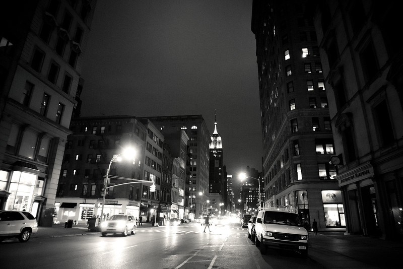 New York City at Night - Midnight