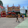 Walking at the Orange County Fair in Costa Mesa California