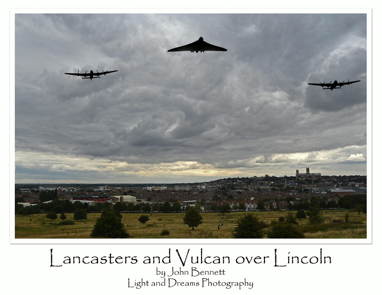 Icons over Lincoln
