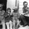 [Chandler family in the Dirty Thirties, South Arcola District, 1931]